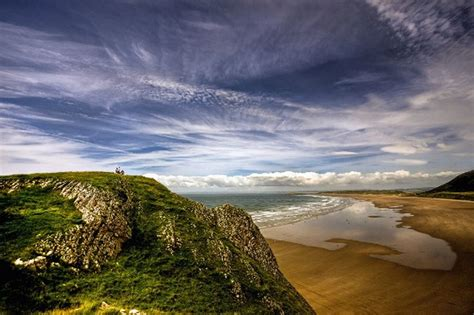 One Of Wales Most Scenic Holiday Cottages Evacuated Due Rhossili Bay Cottages