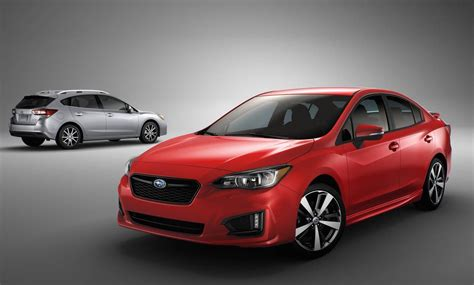 subaru impreza 2017 subaru impreza unveiled debuts all global