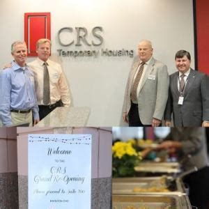 crs temporary housing crs s grand re opening crs
