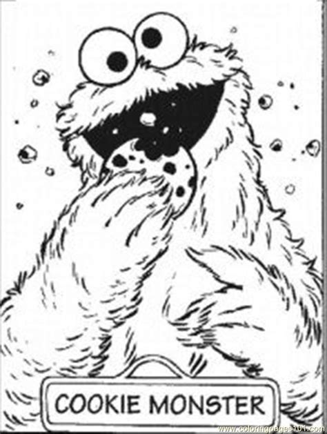 cookie monster coloring page pdf coloring pages cookie monste9 cartoons gt cookie monster