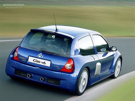 renault clio sport 2004 renault clio v6 2003 2004 2005 autoevolution