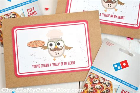 printable pizza gift cards you ve stolen a quot pizza quot of my heart card printable