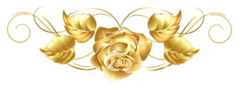 Stelan Roses Brown gold clipart pencil and in color gold clipart