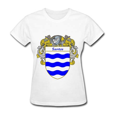 Tshirt Los Santos santos coat of arms mantled t shirt spreadshirt