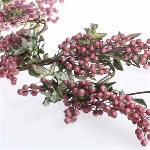 artificial hypericum berry garland pip berries floral