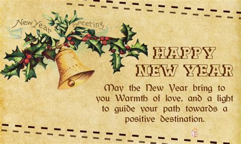 new year card messages wish your dear ones with unique