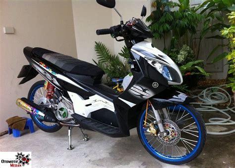 Tameng Depan Nouvo Z Original 1 yamaha nouvo z modifikasi otomotif medan dan nasional