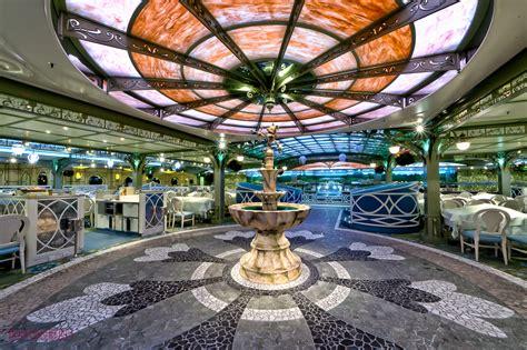 Versailles Floor Plan by Enchanted Garden Dinner Review The Disney Cruise Line Blog