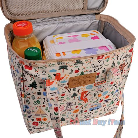 picnic storage containers waterproof baby kid insulated lunch picnic cool bag