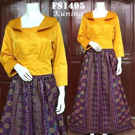 Jual Murah Baju Murah Prily Songket jual beli baju pesta kebaya songket baru kebaya modern