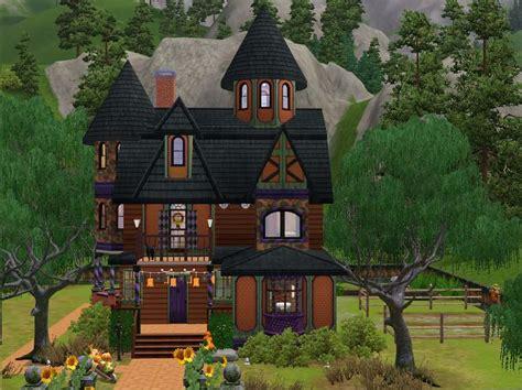 1st Floor House Plan mod the sims halloween house