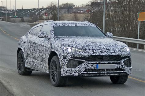 lamborghini jeep new lamborghini urus suv spotted being thrashed around the