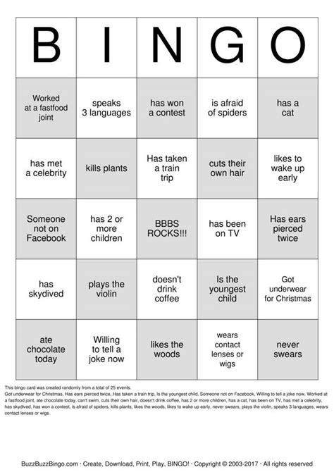 people bingo bingo cards to download print and customize