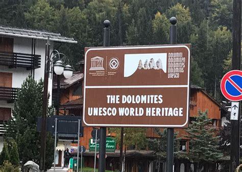 ufficio sta provincia bolzano dolomiti unesco primi cartelli nel comune di tre ville