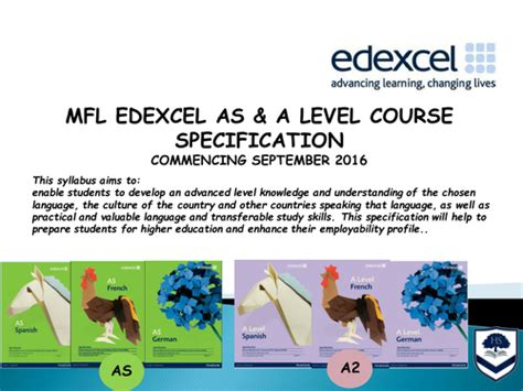 edexcel a level spanish mfl edexcel as a level new spec outline of work by