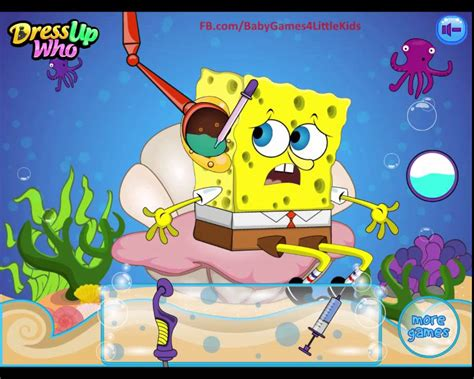 Hair To Play For Free by Top For Children To Play Free Spongebob Ear Doctor