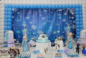frozen table decorations frozen decorations ideas for the best