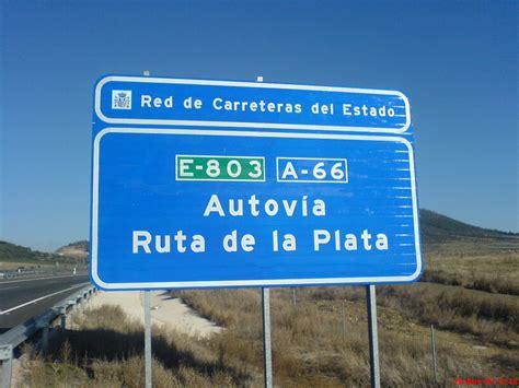 autopista ruta de la plata autovia ruta de la plata a 66