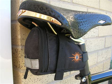Kaos Kesah Basic Logo Ride Every Damn Day review of 3 soma hemp seatbags