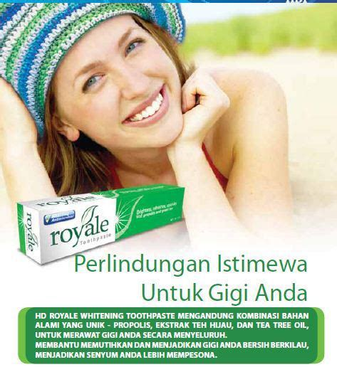 Pasta Gigi Royale hdi royale whitening toothpaste