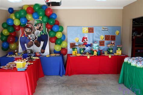Mario Decorations by 90s Themed Decorations Newhairstylesformen2014