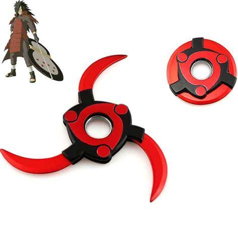 Fidget Spinner Sharingan anime uchiha sharingan shuriken metal fidget finger spinner adhd