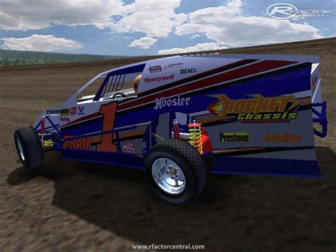 modfury open wheel dirt modifieds in a fury video dirtworks chassis