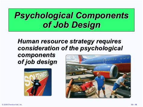 job design hrm definition heizer 10