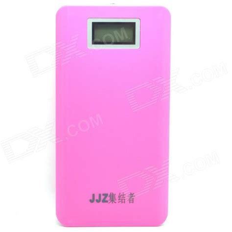 Power Bank Samsung 20000mah Lcd jjz 1 0 quot lcd quot 20000mah quot mobile external power bank for iphone samsung more pink free