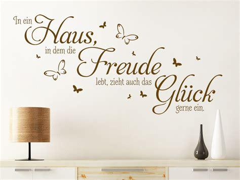 Wandtattoo Kinderzimmer Haus by Wandtattoo Haus Freude Gl 252 Ck Spruch Wandtattoo De