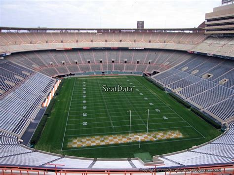 neyland stadium visitors section neyland stadium section mm rateyourseats com