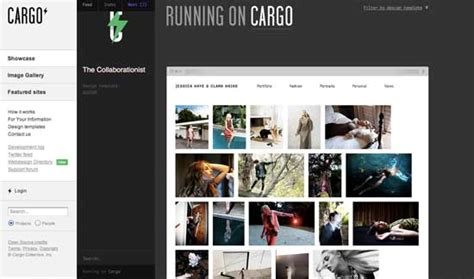 cargo collective templates building an web design portfolio tools themes and templates