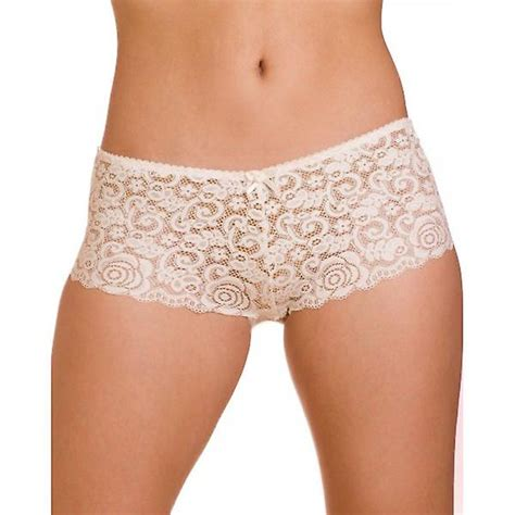 Cuisinart White Toaster Camille White Lingerie Charisma Lace Mesh Boxer Shorts