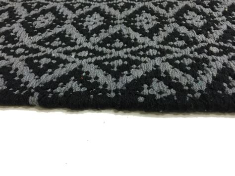Gray Rag Rug by Rag Rugs Lykke Grey Grey Black Rag Rug Grey