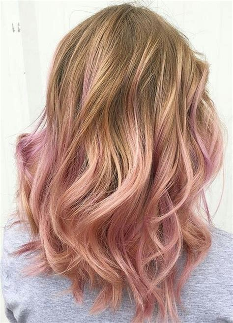 hombre blond rose gold hombre hair tips pinterest rose gold gold