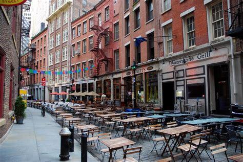 new york stone panoramio photo of new york stone street