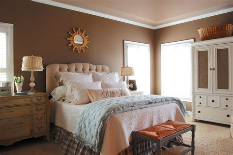Bedroom Wall Color Ideas by Innovative Crown Stencilin Bedroom Farmhouse With
