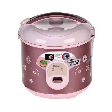Daftar Rice Cooker Merk Miyako jual miyako mcm 18bhb rice cooker 1 8 l harga