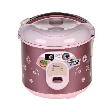 Rice Cooker Miyako Mcm 706 jual miyako mcm 18bhb rice cooker 1 8 l harga