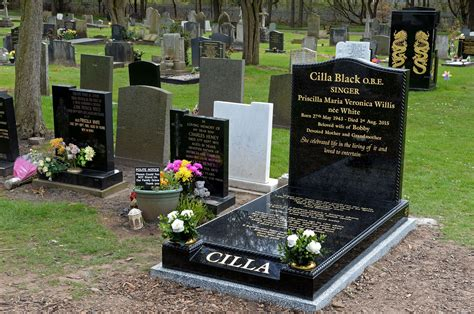 on grave cilla black s grave gets a headstone liverpool echo