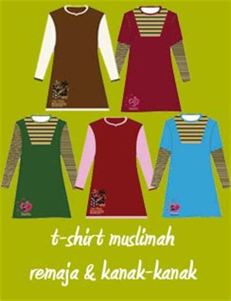 design t shirt kanak kanak busana humaira t shirt muslimah remaja kanak kanak
