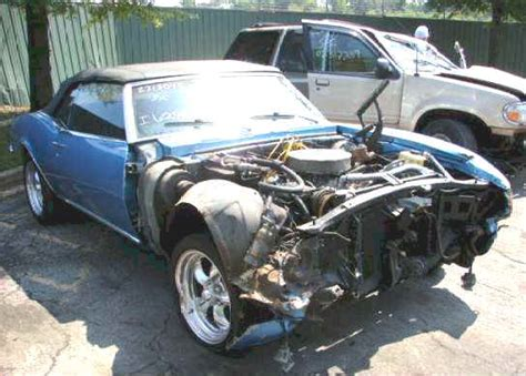 wrecked camaro 1969 camaro project car for sale in pa autos post