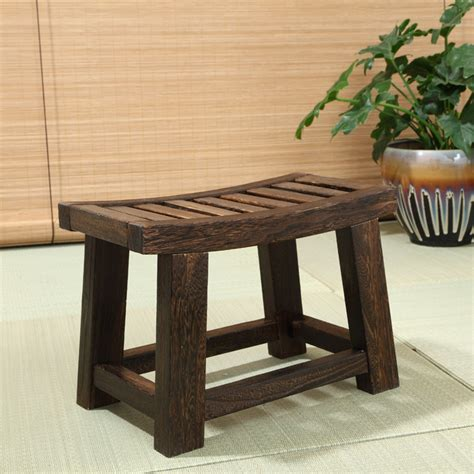 Ordinaire Salon De Jardin Solde #8: Japonais-Antique-tabouret-en-bois-banc-bois-de-Paulownia-traditionnelle-asiatique-meubles-salon-Portable-petit-bois.jpg