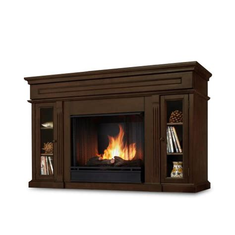 Lannon Fireplace by Lannon Ventless Gel Fireplace In Espresso Real