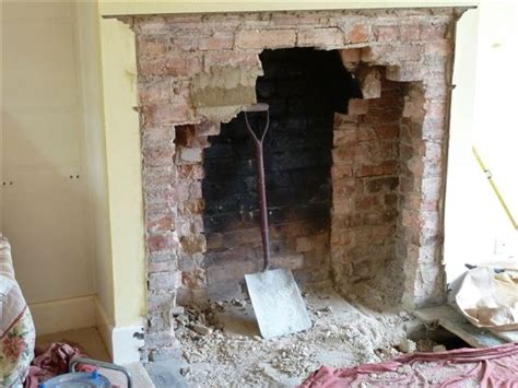 Open Up Fireplace by Opening Up And Building Fireplaces
