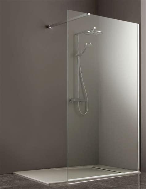 frameless shower glass panel 1300mm