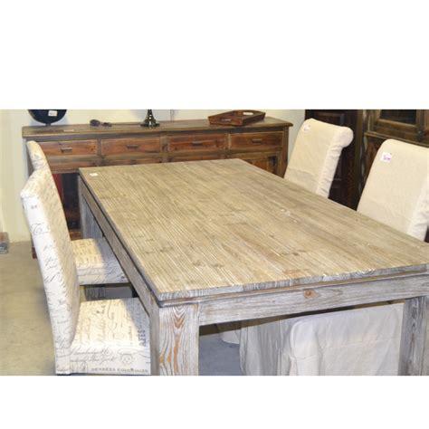 tavoli in legno naturale tavolo etnico legno naturale da 180 etnico outlet mobili