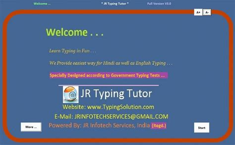 jr hindi typing tutor full version free download with key jr hindi typing tutor and data entry shareware version 8 8