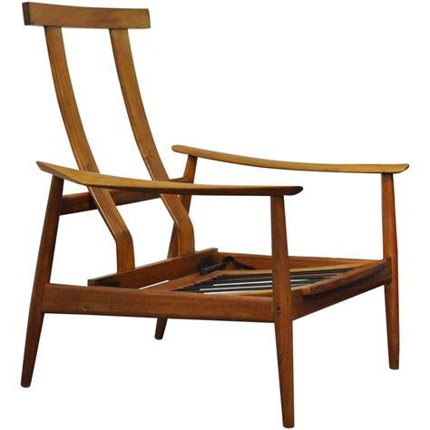 teak reclining chairs vintage arne vodder fd 164 teak mid century danish modern