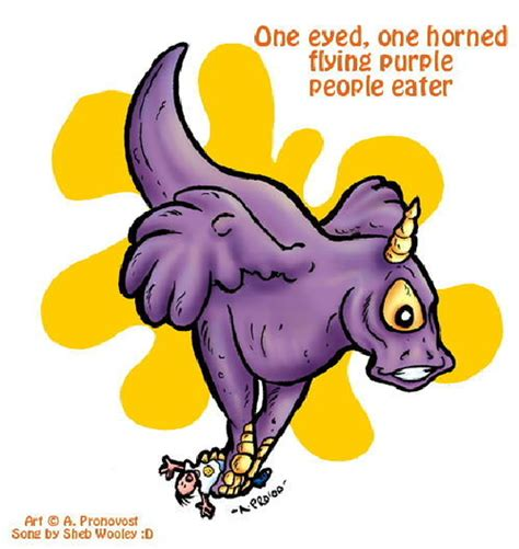 Find Purple Eater One Eyed One Horned Flying Purple Eater Uncyclopedia The Content Free